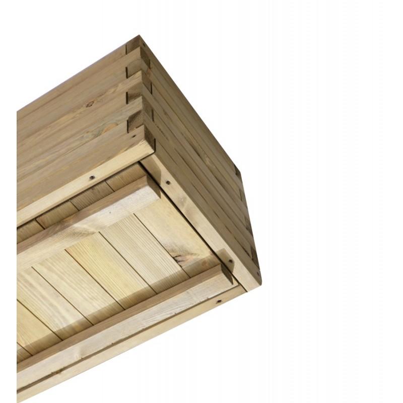 ξύλινες γλάστρες εμποτισμένες