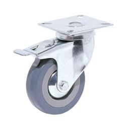 Casters Brake Type Grey...