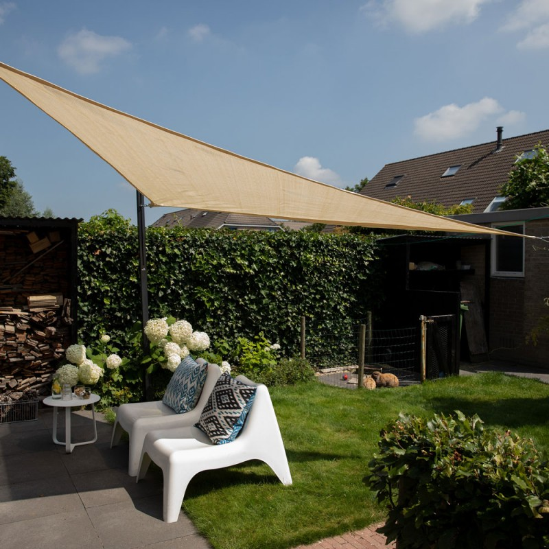 Cool fit shade sail triangle 285gsm 5,0 x 5,0 x 5,0m  NESLING