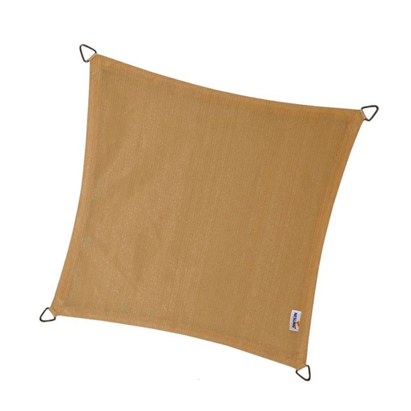 Cool fit shade sail square 285gsm 5,0 x 5,0 x 5,0 x 5,0m NESLING