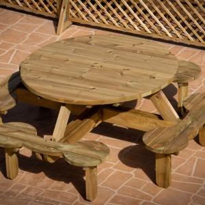 Picnic table 8 seats