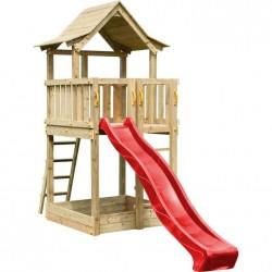 ξύλινος πύργος παιδικής χαράς