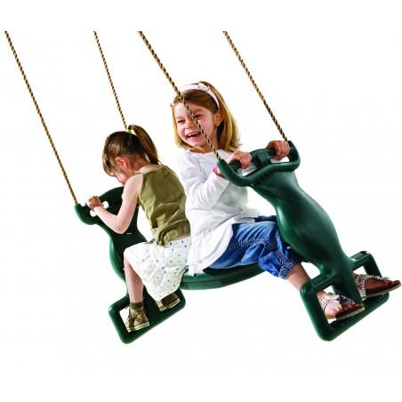 παιδικό διπλό κάθισμα κούνια