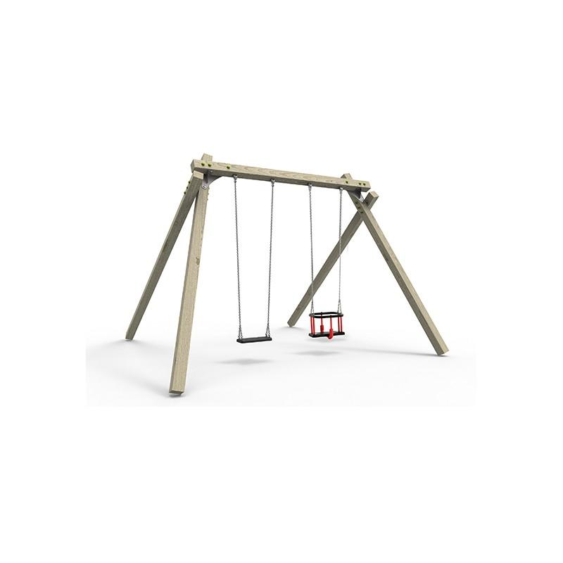 Ξύλινη παιδική χαρά | Ridge