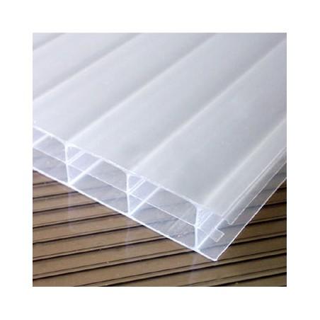 Πολυκαρμπονικό φύλλο κυψελωτό γαλακτώδες 16mm