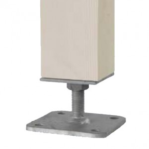 Pillar Base With Through Bar