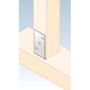 βάση υποδοχή στήριξης ξύλου μεταλλική