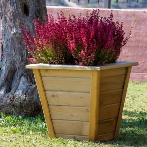 Wooden planter Berne