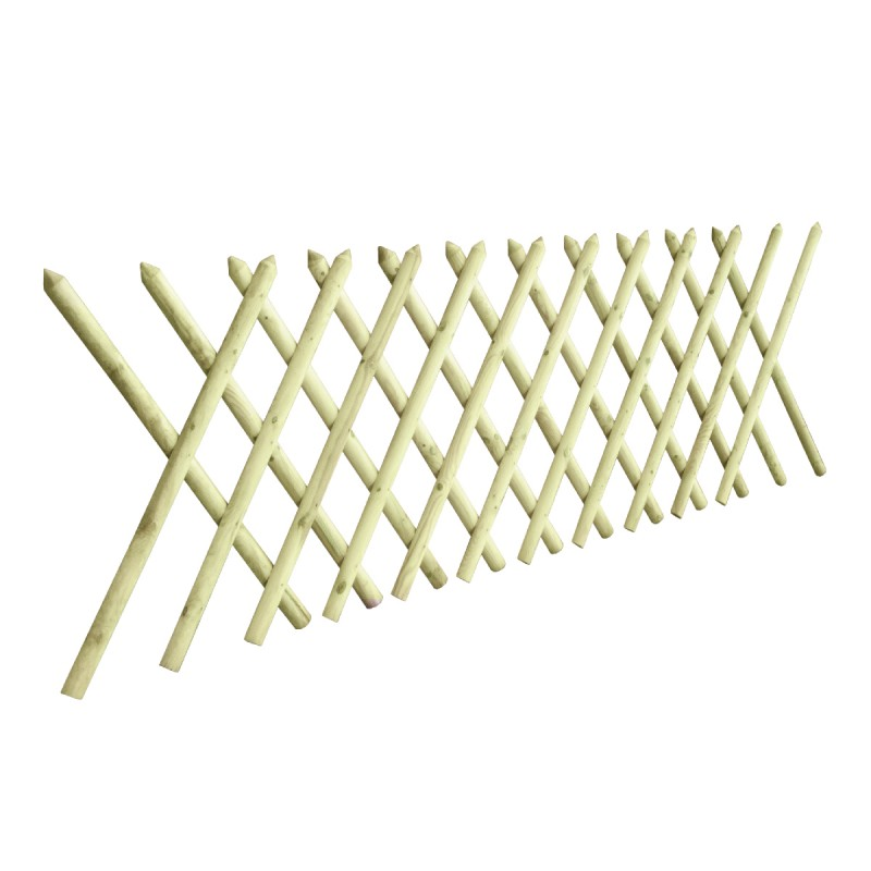 Hunting wooden fence premium