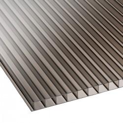Polycarbonate sheet twinwall Bronze 6mm