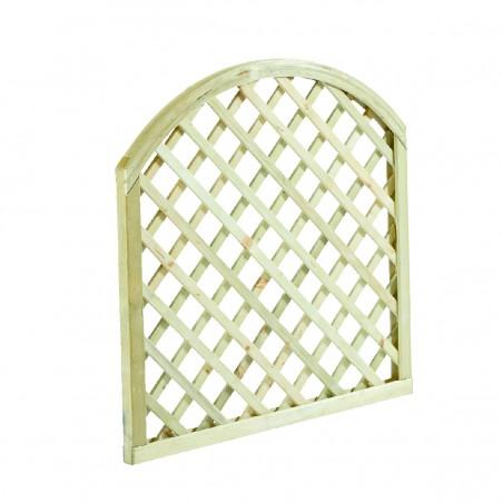 pressure treated Diagonal trellis Arch