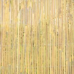 Split bamboo roll