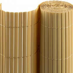 PVC roll fence natural