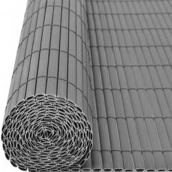 PVC roll fence grey