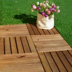 Decking tile acacia