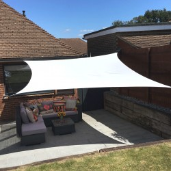 Waterproof shade sail Nesling 5x5m