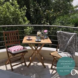 Απολαύστε τις όμορφες μέρες στη βεράντα ή τον κήπο σας με το αναπαυτικό σετ Acacia της #SHOWOOD .  Κάντε κλικ στο λινκ του προφιλ για να δείτε όλα τα προϊόντα μας.  #Outdoorproducts #Wooden #ValuableByNature #Wood #nature #chair #table #gardenfurniture #patio #veranda #WoodenHouse #Rollboarders  #PolycarbonateSheets #RoofingShingles #gardenhouses  #WoodenFurniture #WoodenPlaygound #WeThinkGreen #DIYshops #fences #pergola